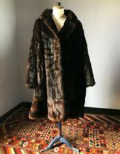 Veste manteau en vison fourrure véritable hiver