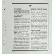 Italie 1981 Feuilles Marins Modèle King D'Occasion Avec Almanach 8 MF62358