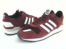 ADIDAS Originals Shoes ZX 700 Retro Suede Burgundy Sneakers B24840 Mens US 10/44
