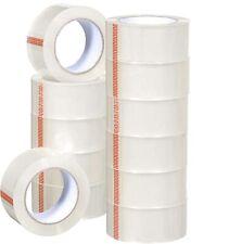 6 Rolls Premium Clear Carton Box Sealing Packing Tape 25 Mil Thick 2x110 Yard