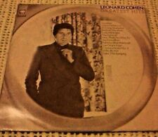 LEONARD COHEN GREATEST HITS VINYL LP 1975 ORIGINAL AUSTRALIAN PRESS SBP 234780