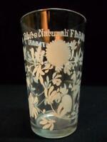 """Servizio di 6 bicchieri """"bibite naturali fabbri"""" anni 70 introvabili vintage"""