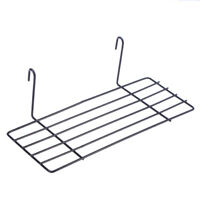 Sturdy Practical Wall Mountable Straight Shelf for Room Wall Grid Panel Display