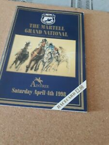 """R/Card, 1998  Grand  National, """"EARTH  SUMMIT""""  signed"""