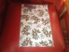 Pimpernel Holly & Ivy Tea Towel Red Berries Xmas Portmeirion Brand New Cotton