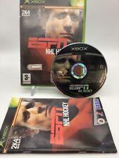 ESPN NHL HOCKEY | origine Xbox | Complet | PAL