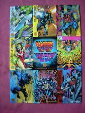 Marvel Universe Series 5 Exploding in August!  9 card promo panel Fleer 1994 VFN
