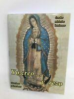 Novena Yo Creo y Rezo Catesismo y Oraciones Spanish Language Book of Prayers