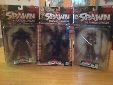 Spawn Series 19 Dark Ages Samurai Wars Action Figures Jyaaku Lotus Mcfarlane