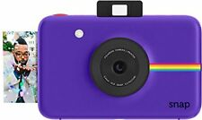 Polaroid Snap Instant Digital Camera (Purple) with ZINK Zero Ink Printing Tech