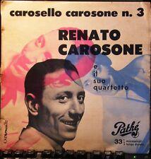 RENATO CAROSONE Titolo: CAROSELLO CAROSONE N 3 Anno: 22/12/1955