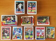2015 Panini Donruss Soccer - Master set Base & all Inserts