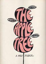 """The Apple Tree"" Souvenir Program  1966  Alan Alda, Barbara Harris, Larry Blyden"