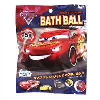 Japanese Bath bomb ball CARS 3 Disney  Inside Mascot  Soda Fragrance