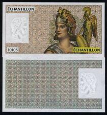 France, French Test Note, Echantillon, 10103