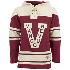 Vancouver Millionaires 47 Brand Hockey Lacer Jersey Hoodie! Old Time Hockey Lace