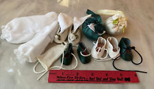 Small Lot of doll shoes clothing items