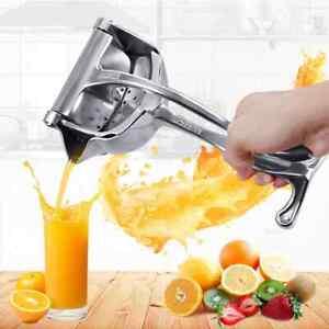 304 Stainless Steel Manual Juicer Orange Juice Squeezer