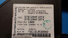 (5 PCS) STB120NF10T4 STMICRO Trans MOSFET N-CH 100V 110A 3-Pin(2+Tab) D2PAK ROHS