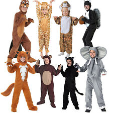 Kids Animal Costumes Boy Pajama Sleepwear Jumpsuit Fancy Dress Cosplay Christmas