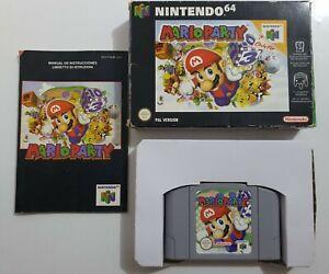 MARIO PARTY  Nintendo 64 N64 pal ESPAÑA  COMPLETO LEER INFO👇