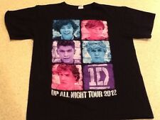 ONE DIMENSION Shirt - Up All Night Tour 2012 - MED Black Tee
