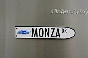 Chevrolet - Monza Drive Street Sign Petrol Oil Man Cave Fridge Magnet