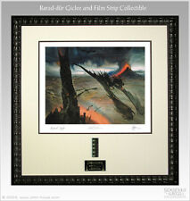 JOHN HOWE BARAD-DUR FRAMED GICLEE PRINT LORD OF THE RINGS SIDESHOW NEW LOW # 4
