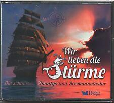 Wir lieben die Stürme - Shantys u. Seemannslieder-Reader's Digest   4 CD Box
