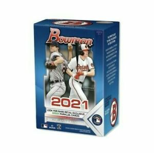 2021 Bowman Topps MLB Baseball Blaster Box - Brand New/Sealed