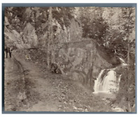 France, Chemin de Bious-Artigues Vintage citrate print. Tirage citrate  8x11