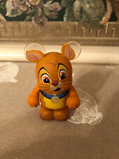 """DISNEY VINYLMATION 3"""" FURRY FRIENDS OLIVER  RECALLED  FIGURE BOX and  Foil NEW"""