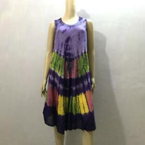 Multicoloured Cut Sleeve Dress