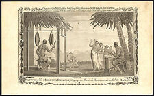 Antique Print-MALUKU-MOLUCCAN ISLANDS-MUSICAL INSTRUMENT-RABANA-Lerpiniere-1782