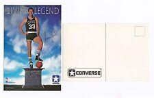 """1988 Converse Larry Bird """"Living Legend"""" Postcard!"""