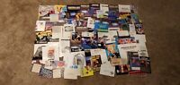 Nintendo NES Super SNES N64 64 Paper Inserts Manuals Posters Registration Cards!