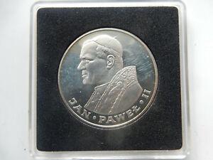 POLEN 1000 ZLOTY 1983 PAPST JOHANNES PAUL II SILBER PP OVP
