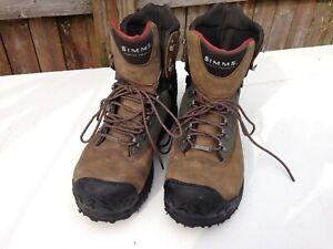 Simms Men's G3 Guide Wading Boots, size 11 Vibram Sole
