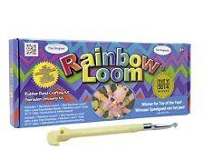 2x Original Rainbow Loom Starter Set Metallnadel Gummibänder Webrahmen Armbänder