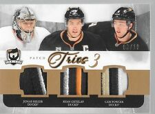 11/12 The Cup Trios Patch Jonas Hiller Ryan Getzlaf Cam Fowler /10 Ducks