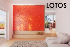 *LOTOS* 3D Decorative Wall Panels 1 pcs ABS Plastic mold for Plaster