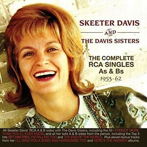 Skeeter Davis - Complete Rca Singles As & Bs 1953-62 [New CD]