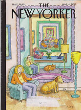 "MARCH 4 2013 NEW YORKER vintage magazine - ""AD INFINITUM"""