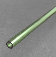 NC-12589  Glass Tubing, Tahiti Green, 12mm O.D., 12 inch, Pk/2