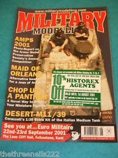 MILITARY MODELLING - JOAN OF ARC - JULY 6 2001