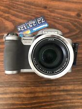 Panasonic LUMIX DMC-FZ8 7.2MP Digital Camera - Silver