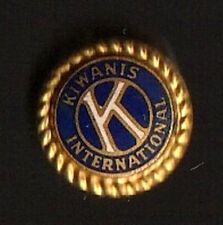 Kiwanis International Metal Pin Pinback - Very Good