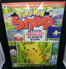 Pokemon Snap (N64) Official Nintendo Power Player's Guide Strategy Guide -1999