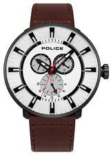 POLIZIA Nuovo di Zecca MEN'S LEAGUE Watch 15040 xcyb/01