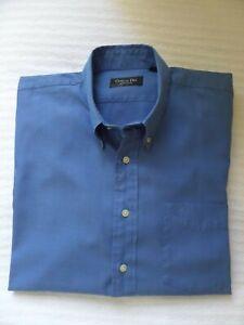 Christian Dior Monsieur Shirt LARGE in Royal Blue